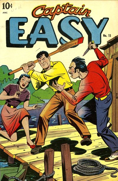 Cover for Captain Easy (Pines, 1947 series) #15