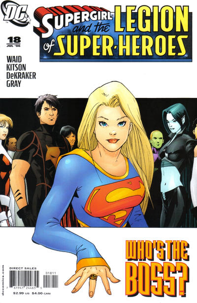 Cover for Supergirl and the Legion of Super-Heroes (DC, 2006 series) #18