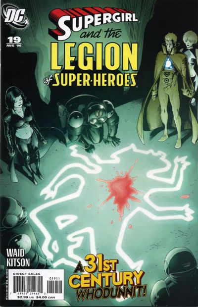 Cover for Supergirl and the Legion of Super-Heroes (DC, 2006 series) #19