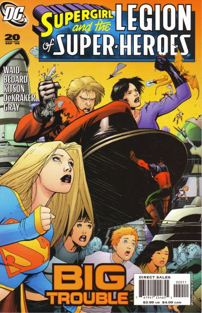 Cover for Supergirl and the Legion of Super-Heroes (DC, 2006 series) #20