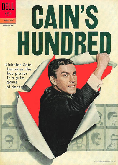 Cover for Cain's Hundred (Dell, 1962 series) #1