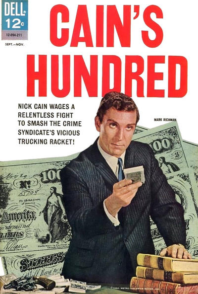 Cover for Cain's Hundred (Dell, 1962 series) #2