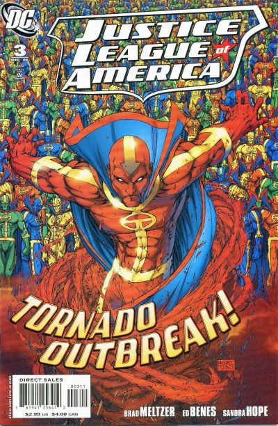 Cover for Justice League of America (DC, 2006 series) #3 [Standard Direct Sales Cover Variant]