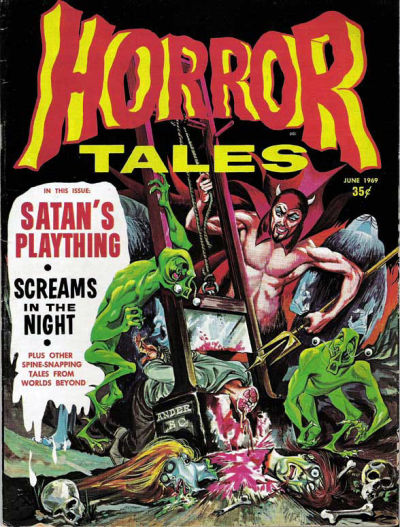 Cover for Horror Tales (Eerie Publications, 1969 series) #v1#7