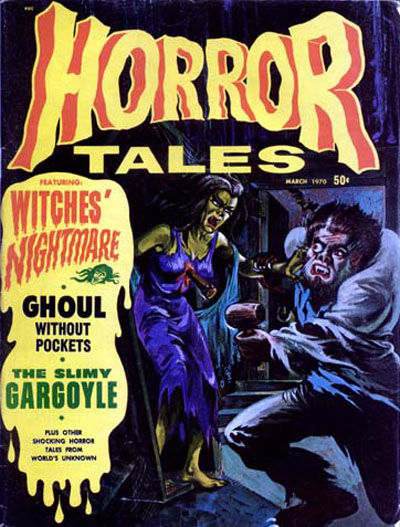 Cover for Horror Tales (Eerie Publications, 1969 series) #v2#2