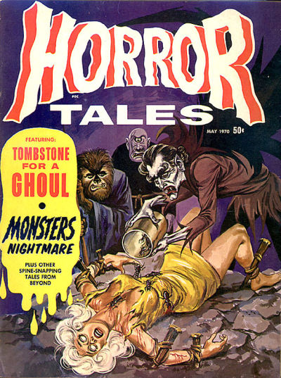 Cover for Horror Tales (Eerie Publications, 1969 series) #v2#3
