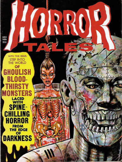 Cover for Horror Tales (Eerie Publications, 1969 series) #v2#6