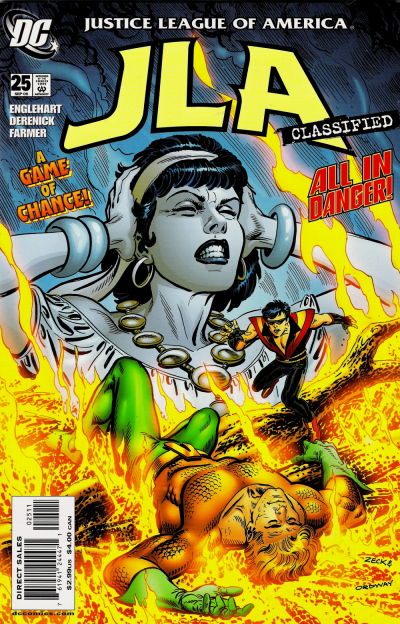 Cover for JLA: Classified (DC, 2005 series) #25 [Direct Sales]