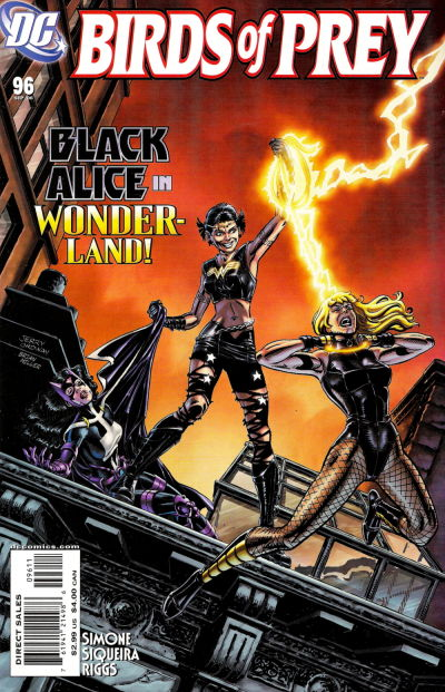 Cover for Birds of Prey (DC, 1999 series) #96