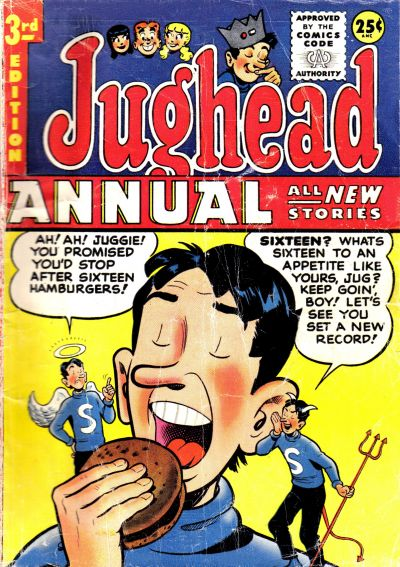 Cover for Archie's Pal Jughead Annual (Archie, 1953 series) #3