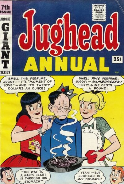Cover for Archie's Pal Jughead Annual (Archie, 1953 series) #7