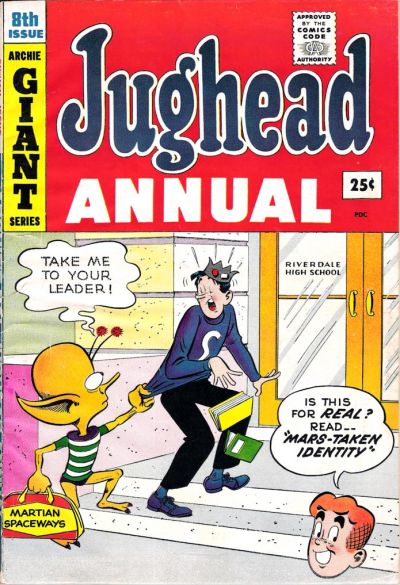 Cover for Archie's Pal Jughead Annual (Archie, 1953 series) #8
