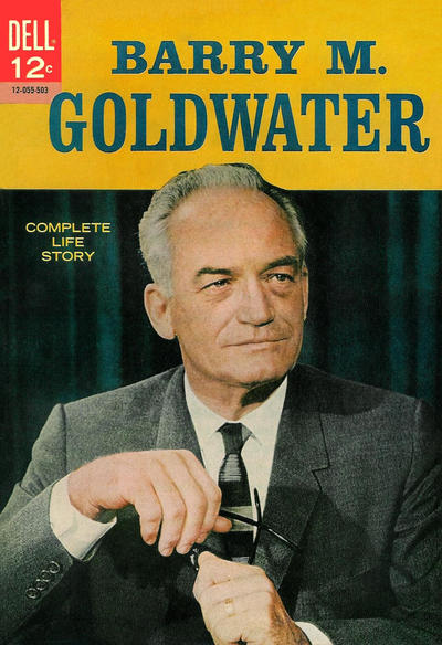 Cover for Barry M. Goldwater (Dell, 1965 series) #[nn]