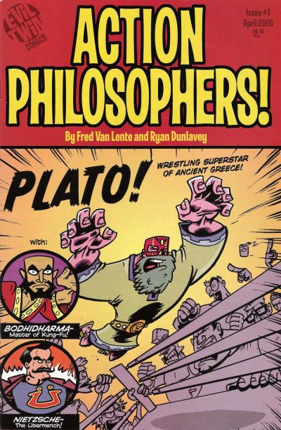 Cover for Action Philosophers (Evil Twin Comics, 2005 series) #1