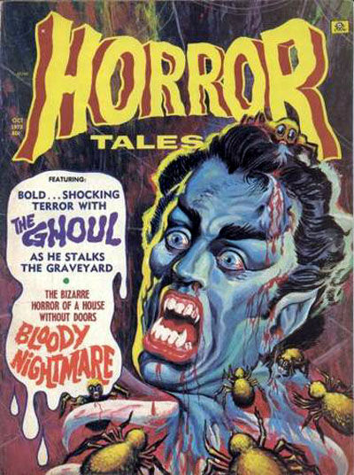 Cover for Horror Tales (Eerie Publications, 1969 series) #v4#6