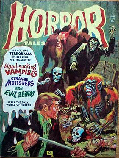 Cover for Horror Tales (Eerie Publications, 1969 series) #v5#5 [3]