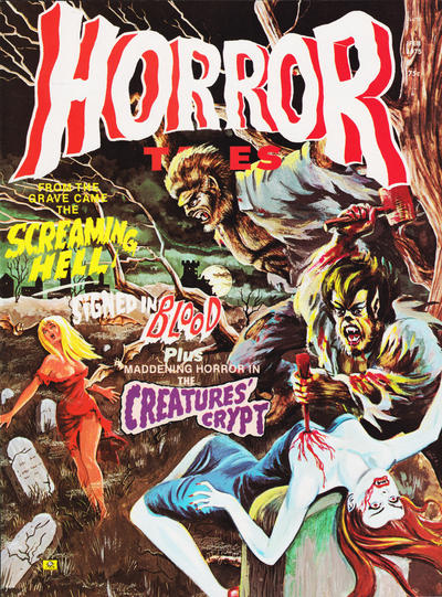 Cover for Horror Tales (Eerie Publications, 1969 series) #v7#1
