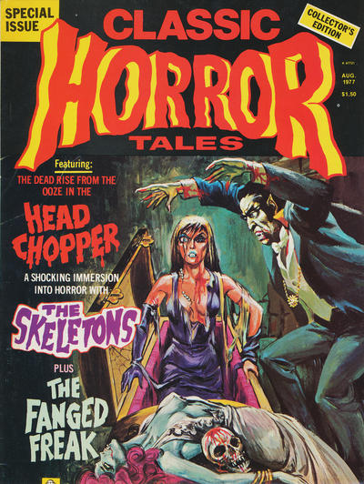 Cover for Horror Tales (Eerie Publications, 1969 series) #v8#4