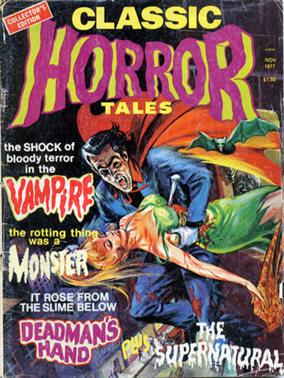 Cover for Horror Tales (Eerie Publications, 1969 series) #v8#5