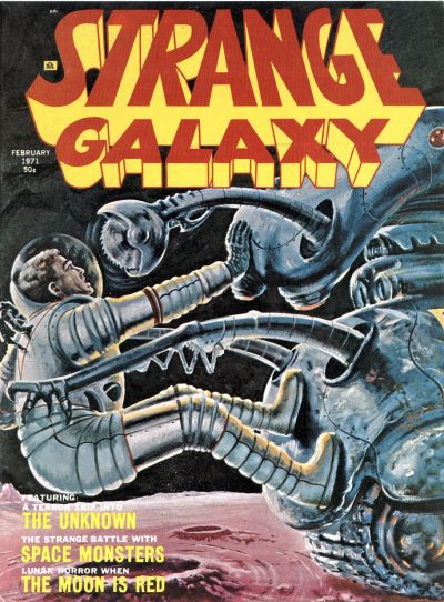 Cover for Strange Galaxy (Eerie Publications, 1971 series) #v1#8