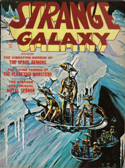 Cover for Strange Galaxy (Eerie Publications, 1971 series) #v1#10