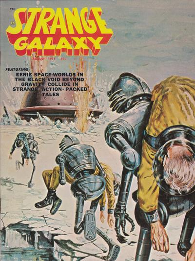 Cover for Strange Galaxy (Eerie Publications, 1971 series) #v1#11
