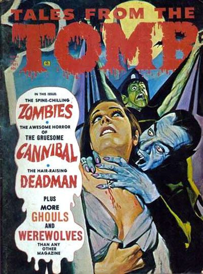 Cover for Tales from the Tomb (Eerie Publications, 1969 series) #v3#6