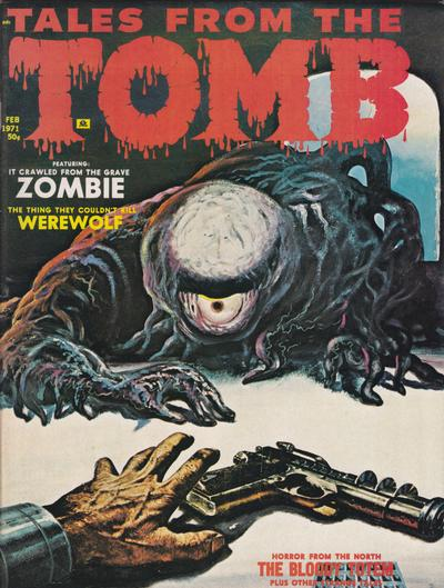 Cover for Tales from the Tomb (Eerie Publications, 1969 series) #v3#1