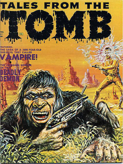 Cover for Tales from the Tomb (Eerie Publications, 1969 series) #v3#2