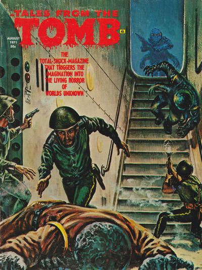 Cover for Tales from the Tomb (Eerie Publications, 1969 series) #v3#4