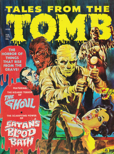 Cover for Tales from the Tomb (Eerie Publications, 1969 series) #v4#1