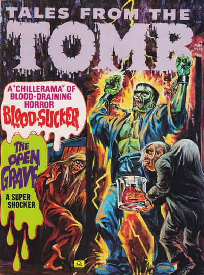Cover for Tales from the Tomb (Eerie Publications, 1969 series) #v5#2