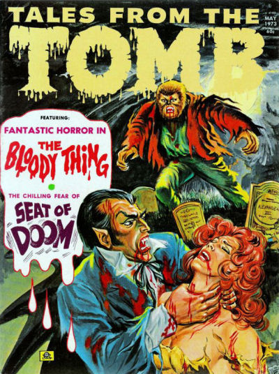 Cover for Tales from the Tomb (Eerie Publications, 1969 series) #v5#3
