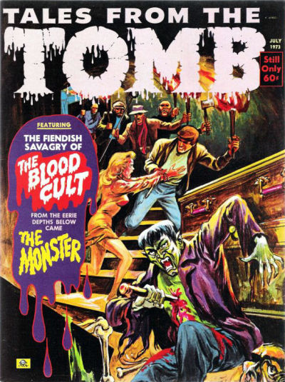 Cover for Tales from the Tomb (Eerie Publications, 1969 series) #v5#4