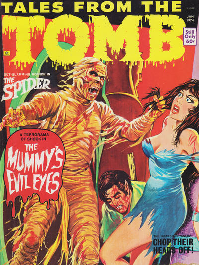 Cover for Tales from the Tomb (Eerie Publications, 1969 series) #v6#1