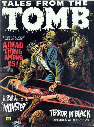 Cover for Tales from the Tomb (Eerie Publications, 1969 series) #v6#6