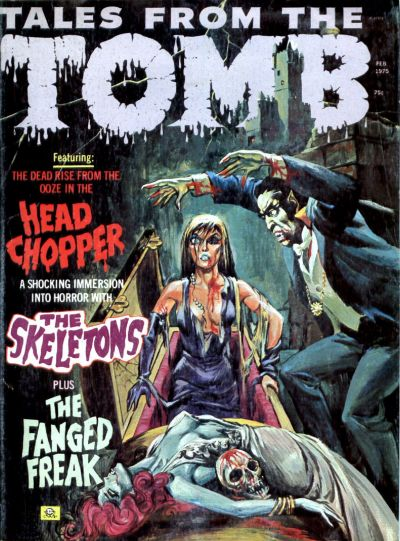 Cover for Tales from the Tomb (Eerie Publications, 1969 series) #v7#1