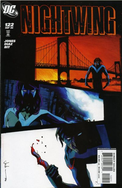Cover for Nightwing (DC, 1996 series) #122