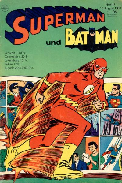 Cover for Superman (Egmont Ehapa, 1966 series) #16/1968