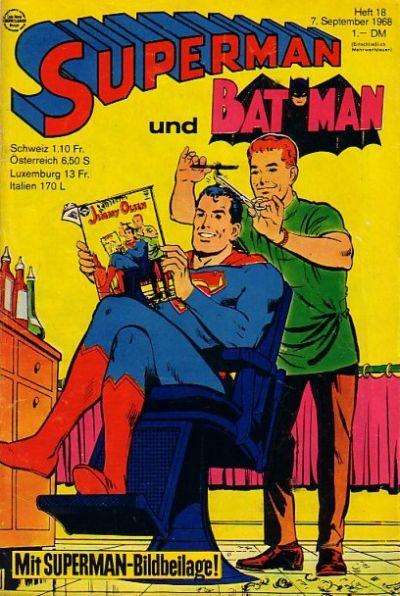 Cover for Superman (Egmont Ehapa, 1966 series) #18/1968