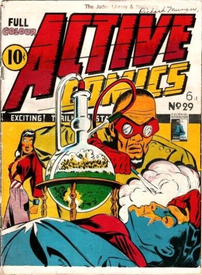 Cover for Active Comics (Bell Features, 1942 series) #29