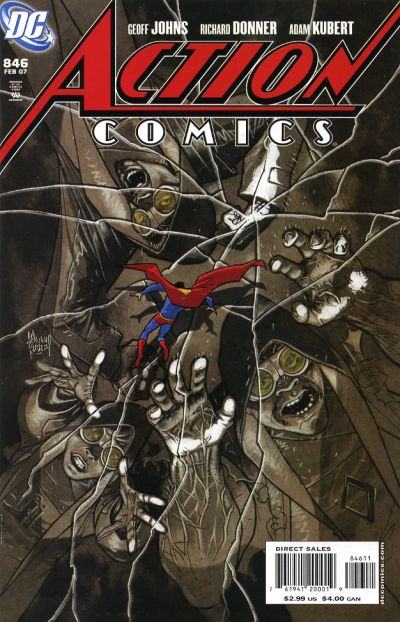 Cover for Action Comics (DC, 1938 series) #846