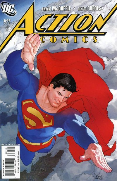 Cover for Action Comics (DC, 1938 series) #847
