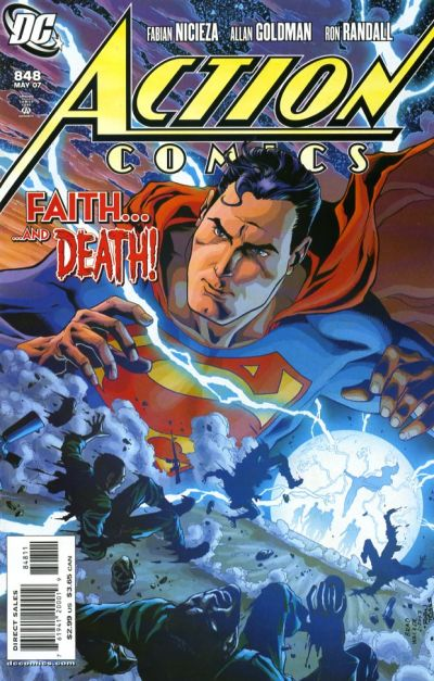 Cover for Action Comics (DC, 1938 series) #848