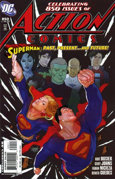 Cover for Action Comics (DC, 1938 series) #850