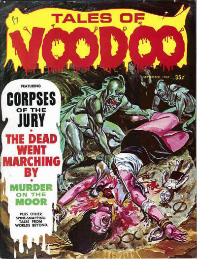 Cover for Tales of Voodoo (Eerie Publications, 1968 series) #v2#4