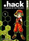 Cover for .hack //Legend of the Twilight (Tokyopop, 2003 series) #1