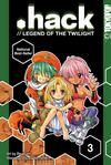 Cover for .hack //Legend of the Twilight (Tokyopop, 2003 series) #3