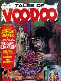Cover Thumbnail for Tales of Voodoo (Eerie Publications, 1968 series) #v5#1