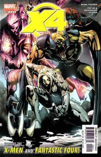 Cover Thumbnail for X-Men / Fantastic Four (Marvel, 2005 series) #2
